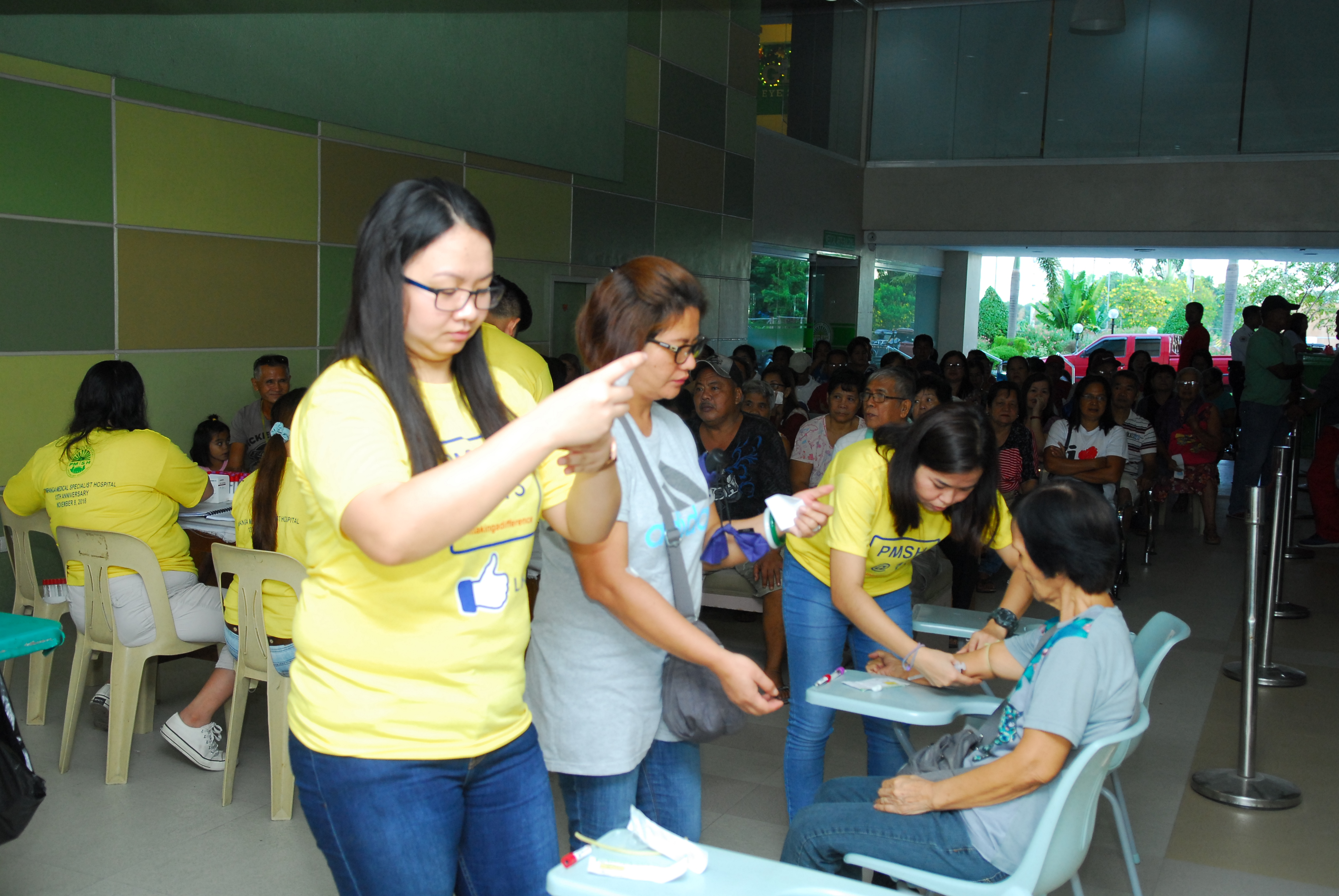PMSH 13TH ANNIVERSARY(BLOOD LETTING & FREE LAB)